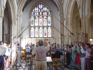 40 piece choir, LSO